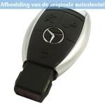 Mercedes 3-knops smart key